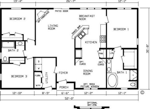 1600 sq ft 66132 high ridge manor wholesale housing inc for 1600 to 1700 square foot house plans