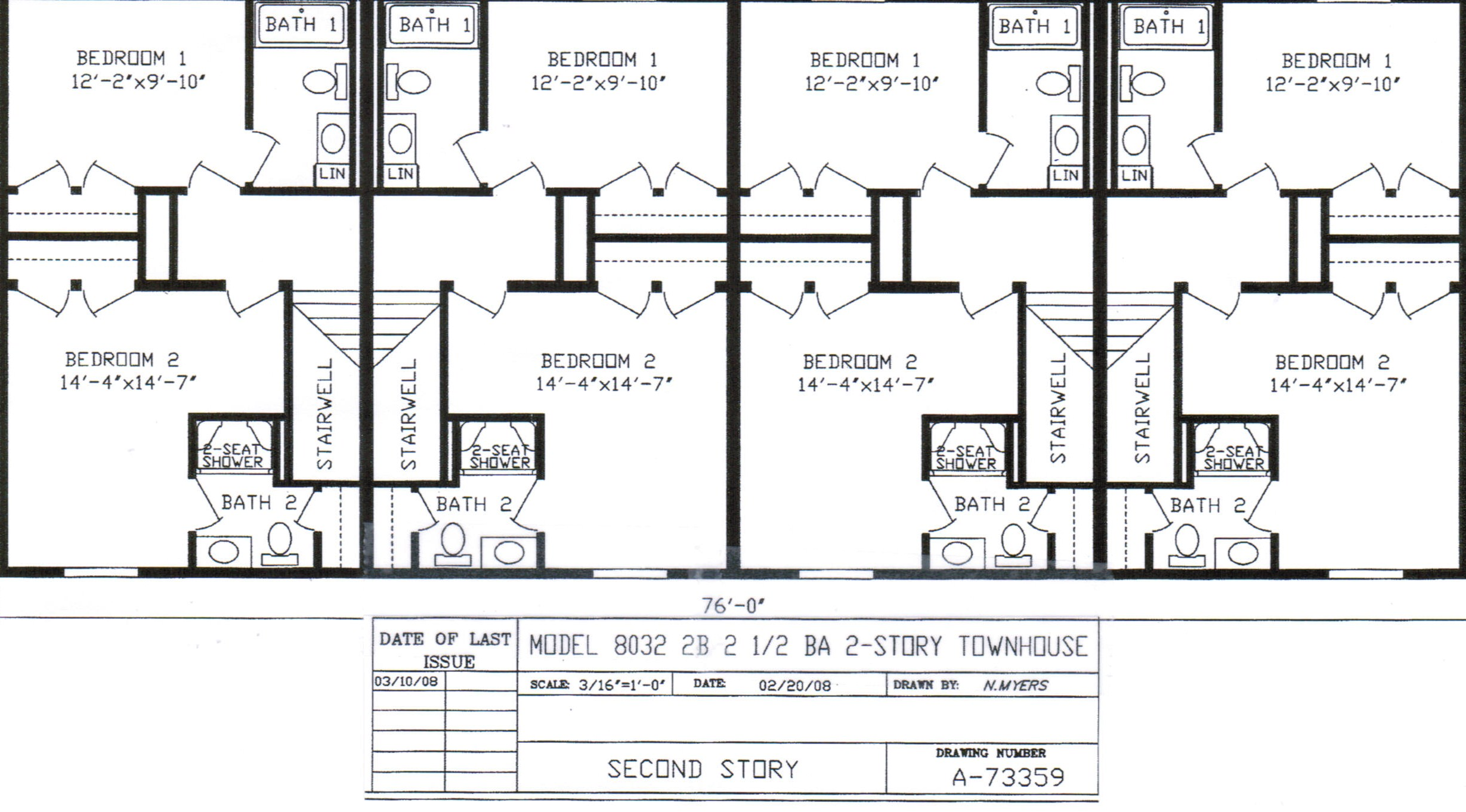 Simple fourplex plans placement architecture plans 74603 for Fourplex plans with garage