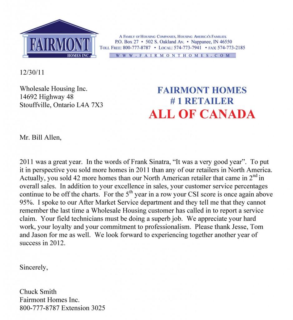Letter 1 - 1retailerinallofCanada
