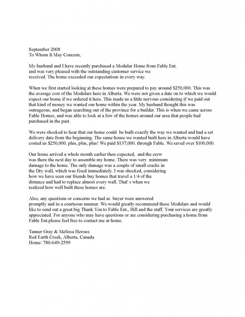 Letter 5 - Tanner Gray