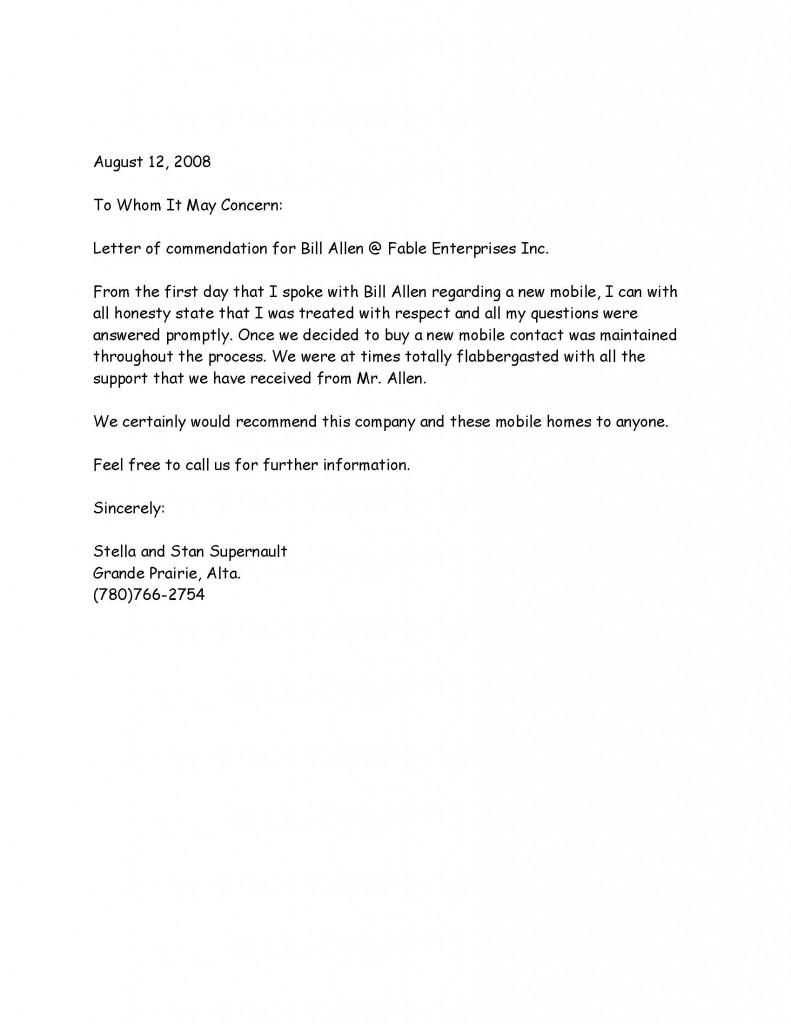 Letter 6 - Stella Supernault