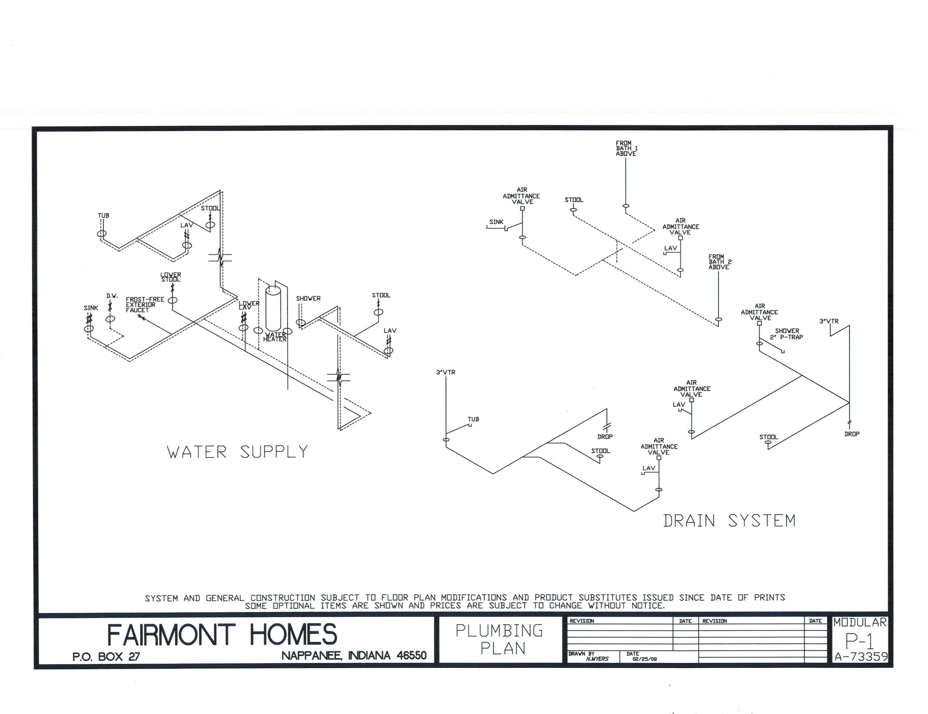 Fairmont Wiring Diagram Friendship 34 Images Fourplexes Plumbing Schematic Basic Electrical Diagrams At